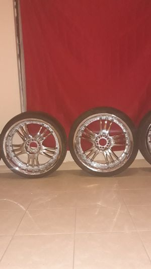 "Chrome 20"" Rims for Sale in Alexandria, LA"