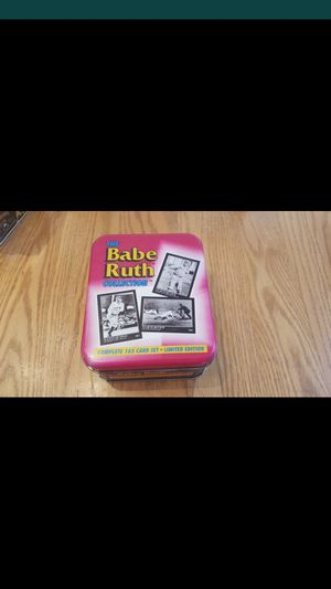 Babe Ruth Collection 165 Limited Edition Card Set for Sale in Windsor Hills, CA