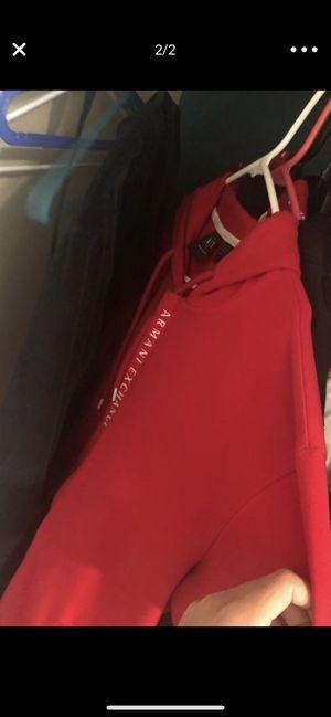 Red Armani exchange jacket men for Sale in Germantown, MD