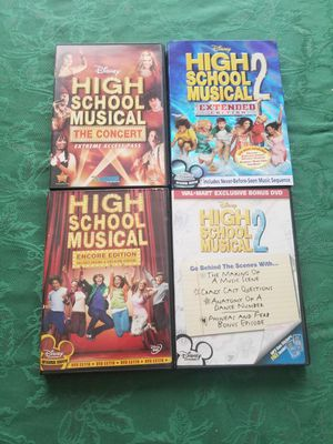 DVDs high school music collection for Sale in Albuquerque, NM