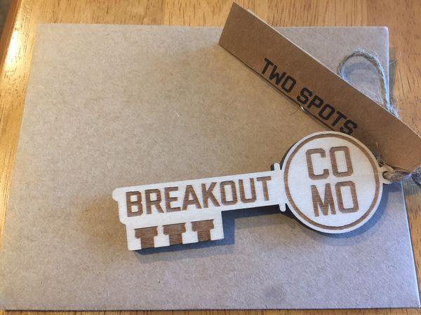 Breakout COMO Escape Rooms- 2 passes