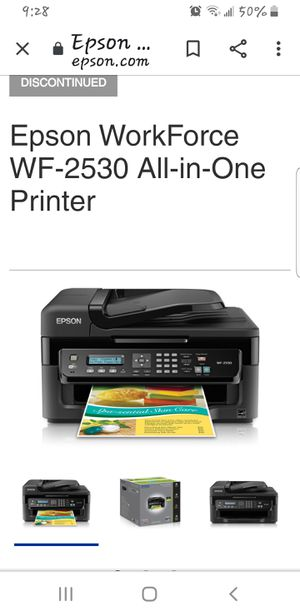 EPSON WF-2530 PRINTER for Sale in Clinton, MD