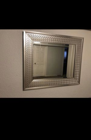 Silver mirror for Sale in Washougal, WA