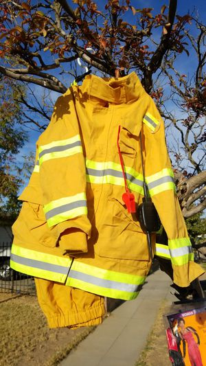 Fire fighter costume for Sale in Fresno, CA