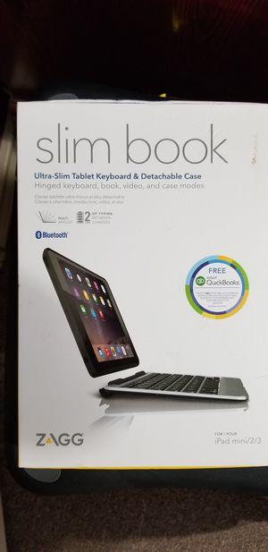 Slim book case with keyboard case for Sale in Edinburg, TX