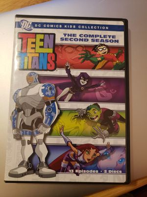 Seasons 1-5 of teen titans animated show for Sale in Phoenix, AZ
