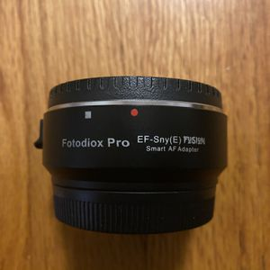 Fotodiox Pro EF to E Mount smart adapter (Canon lens to Sony mirrorless body) for Sale in Charlotte, NC