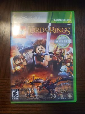 Lego lord of the rings xbox 360 Seal for Sale in Conklin, NY