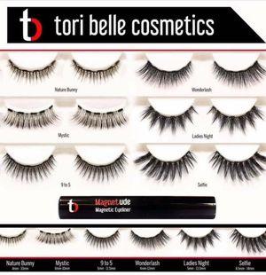 Tori Belle Magnetic eyelashes for Sale in Glendale, AZ