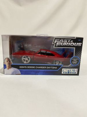 Fast and Furious Dodge Charger Daytona Collectible Car Toy for Sale in Los Angeles, CA