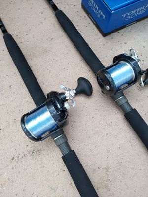 New Shimano torium 30 reel/ custom rods.....600.00 for both for Sale in Pembroke Pines, FL