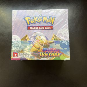 Vivid Voltage Booster Pack (36 Packs) Sword & Shield Brand New Factory Sealed for Sale in Seattle, WA