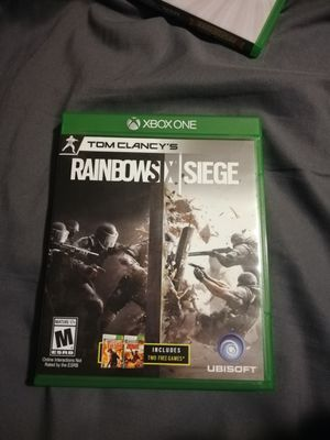 Xbox One Rainbow Six Siege Game for Sale in Atwater, CA