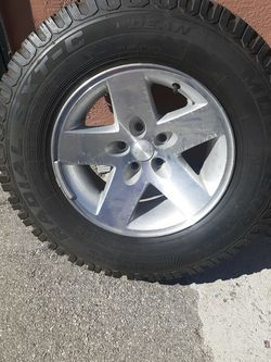 Jeep Tj Rubicon Wheel for Sale in Compton,  CA