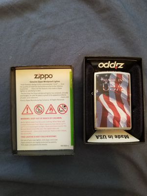 NEW Zippo Made in USA Patriotic Lighter for Sale in San Diego, CA