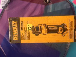 Brand new dewalt cutout tool brushless 20v for Sale in Beverly Hills, CA