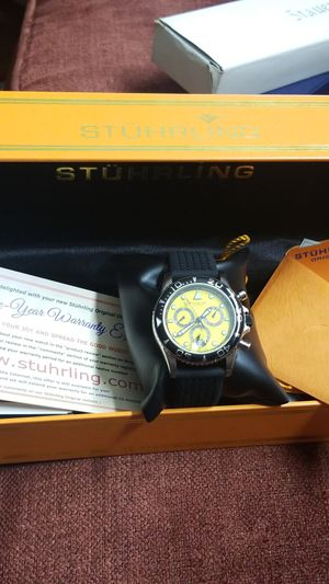 STUNNING STUHRLING SWISS CHOREOGRAPH WATCH for Sale in Springfield, VA