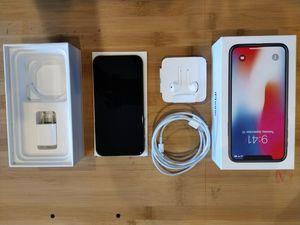 IPhone X, 256Gb, MINT with accessories (unused) and original box for Sale in Santa Clara, CA
