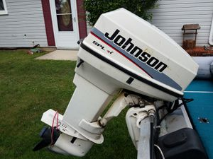 50Hp Johnson Outboard, Steering Console and Cables for Sale in Glen Burnie, MD