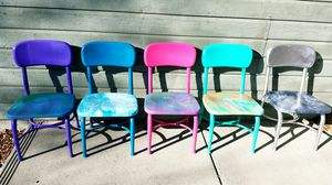 Painted Kids Chairs for Sale in Colorado Springs, CO