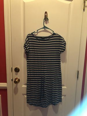 Blue and white striped dress for Sale in Ashburn, VA