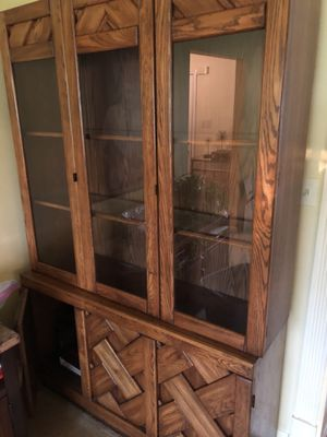 Glass China Cabinet for Sale in Columbia, MD