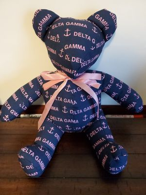 DELTA GAMMA Teddy Bear for Sale in Converse, TX