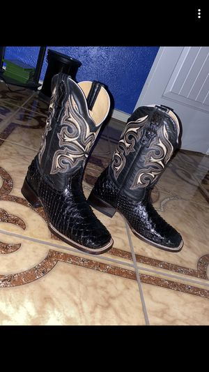 Snake skin boots for Sale in Houston, TX