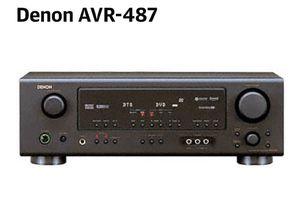 DENON SYS-57HT Speaker System Pack & AVR-487 AV SURROUND RECEIVER for Sale in Centreville, VA