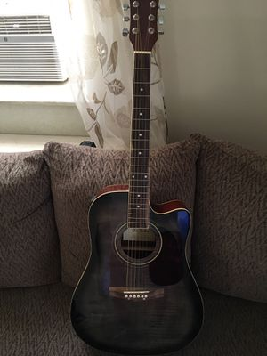 Glen Burton Acoustic Electric Cutaway Guitar for Sale in Philadelphia, PA