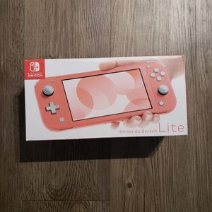 Nintendo switch lite coral for Sale in Plano, TX