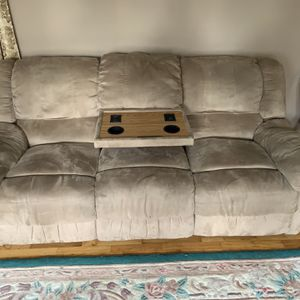 Microfiber Reclining Couch Set! for Sale in Federal Way, WA