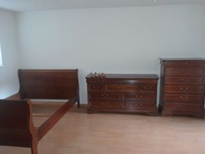 2 dressers and a bed frame for Sale in Los Angeles, CA