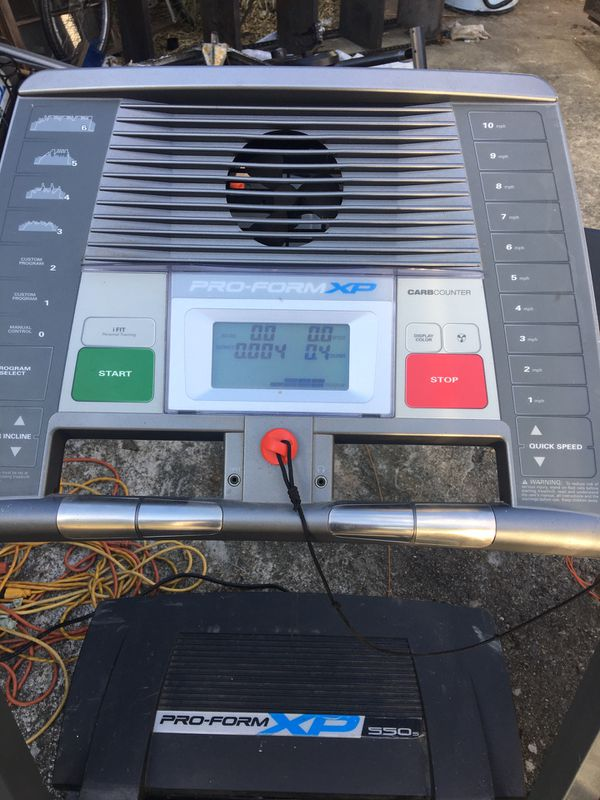 Pro form XP 550s Treadmill (works)