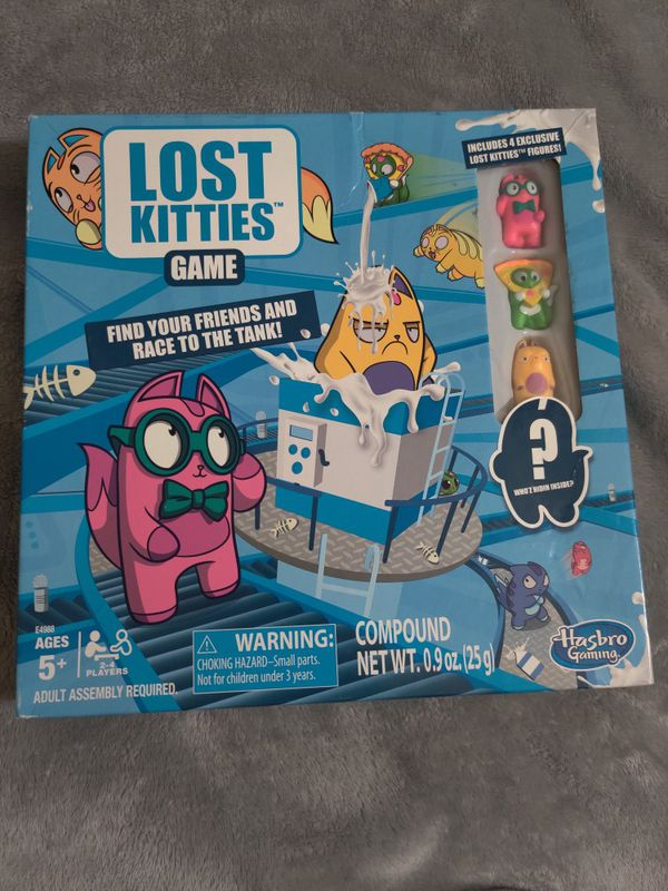 Lost Kitties Board Game
