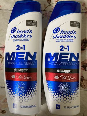 Head and shoulders 2-in-1 shampoo and conditioner old spice scent for Sale in National City, CA