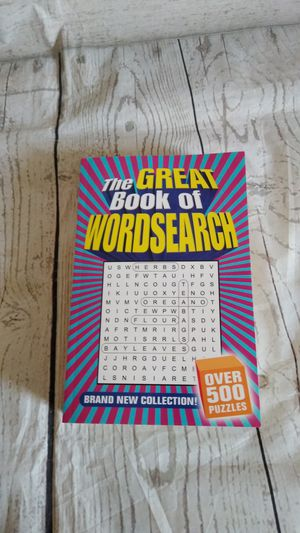 Brand New Word Search , Over 500 Puzzles ( never used ) for Sale in Frederick, MD