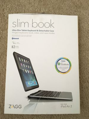 Ultra slim Tablet keyboard and Detachable case for Sale in Gaithersburg, MD
