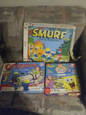 KIDS BOARD GAMES 10.00 ALL for Sale in Newark, OH