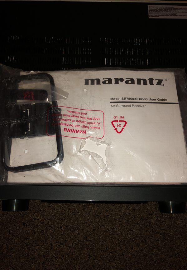 Marantz SR7500 Receiver works good