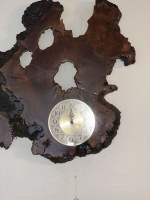 Antique wood wall clock for Sale in Richmond, CA