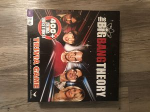 Big Bang Theory Board Game for Sale in LAUD BY SEA, FL