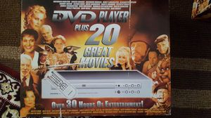 Panda DVD player with 20 classic movies for Sale in Humble, TX