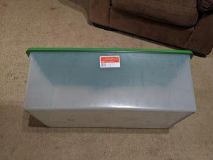 110qt Clearview Sterilite storage container for Sale in Norwalk, CA
