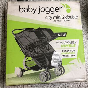 BRAND NEW, UNOPENED Double stroller (Baby Jogger City Mini 2)-$460 for Sale in San Diego, CA