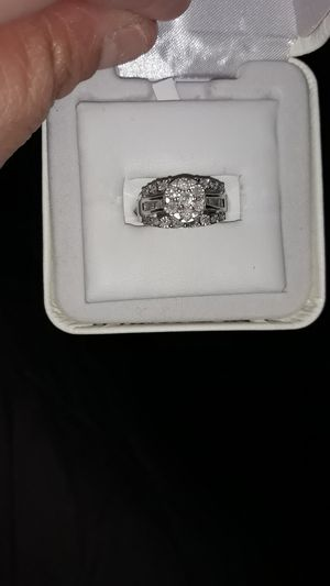 1/4 ct diamond ring sterling silver for Sale in Montclair, CA