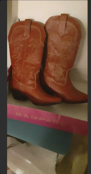 Vimeo Cowboy Boots Red Size 8 for Sale in Columbus, OH