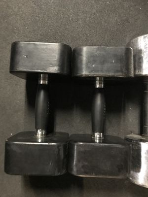 Rubber Dumbbells (2x20s) for $25 Firm!!! for Sale in Burbank, CA