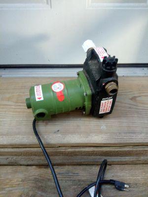 Bomba de agua electrica for Sale in Houston, TX