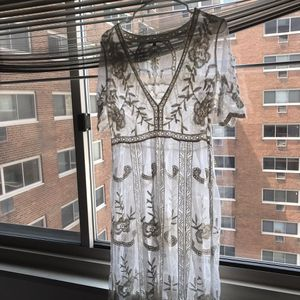 Woven heart size large embroidered lace cover tunic dress size large for Sale in Philadelphia, PA